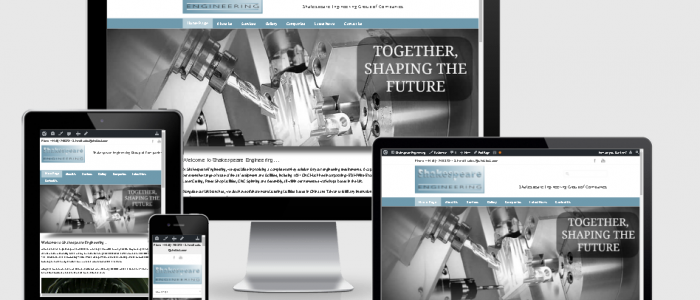 Shakespeare Engineering new website